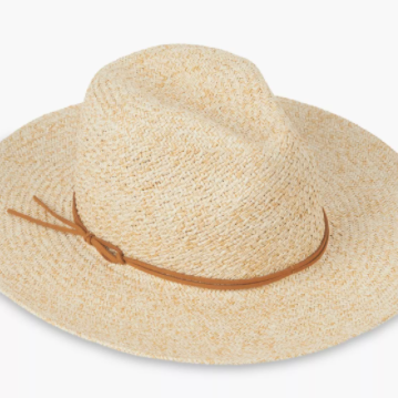 Lucky Brand Two Tone Panama Hat