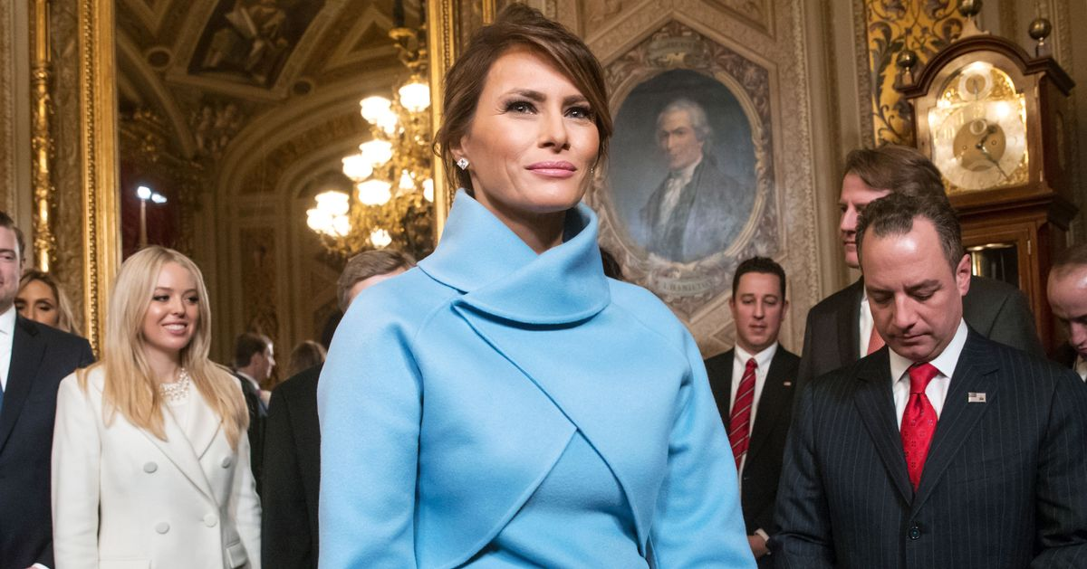 melania trump change style after moving white house