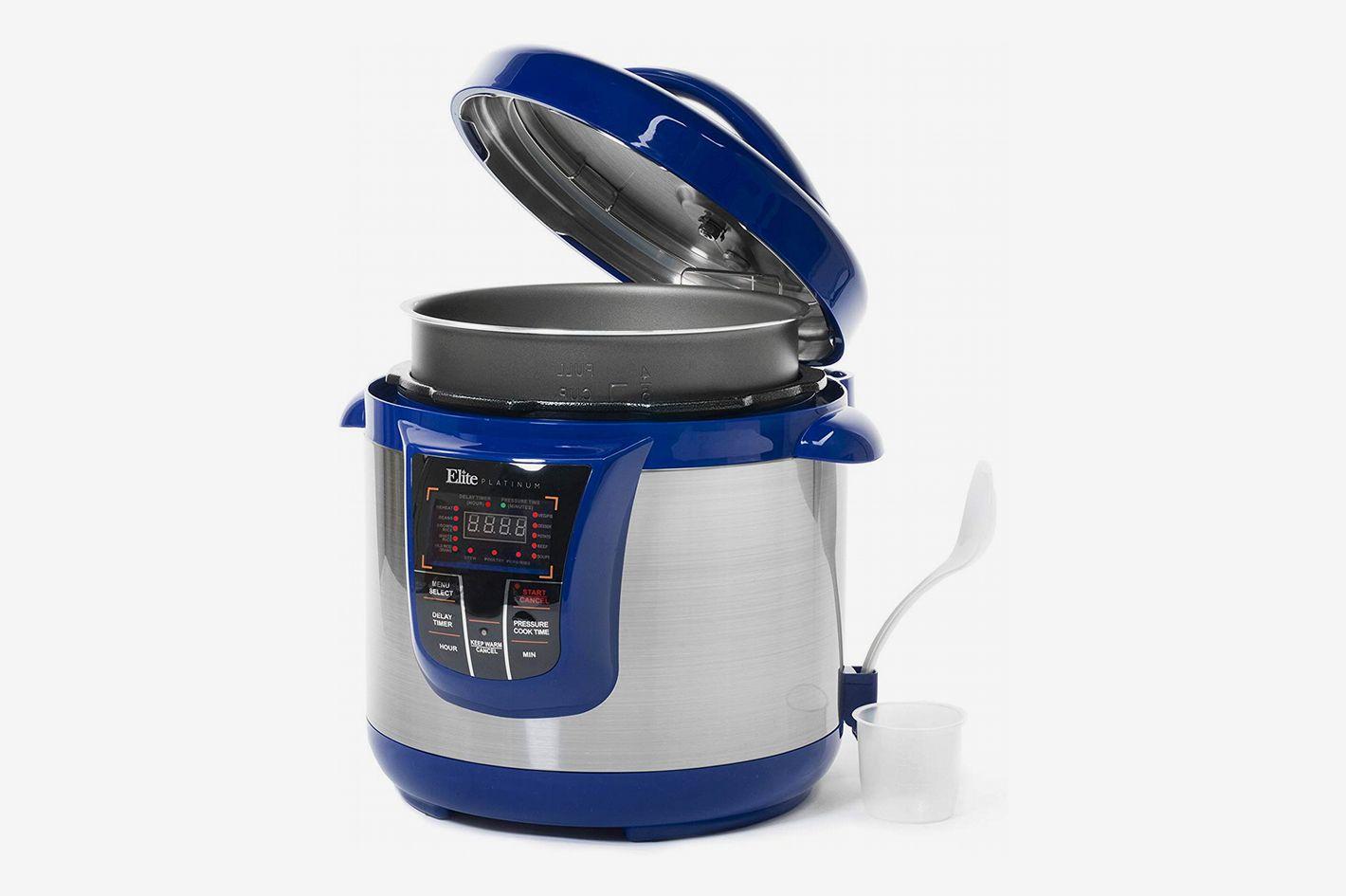 Elite Platinum 8 Quart 14-in-1 Multi-Use Programmable Pressure Cooker