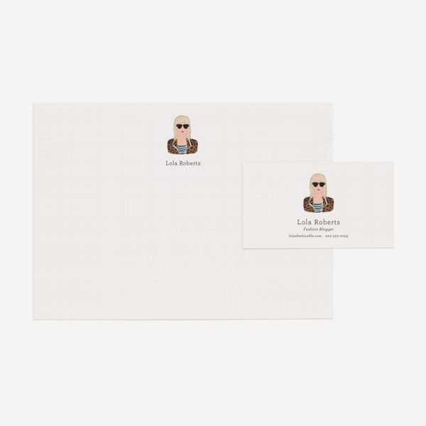 Rifle Paper Co. Custom-Portrait Personalized Stationery