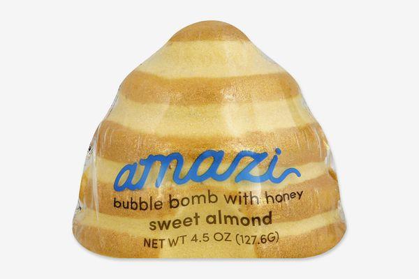 Amazi Bubble Bomb with Epsom Salt in Honey Sweet Almond