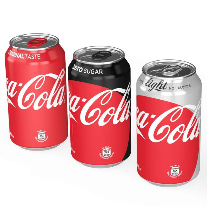 The new Coke can designs. And, yes, Diet Coke is called Coca-Cola Light in most places outside the U.S.