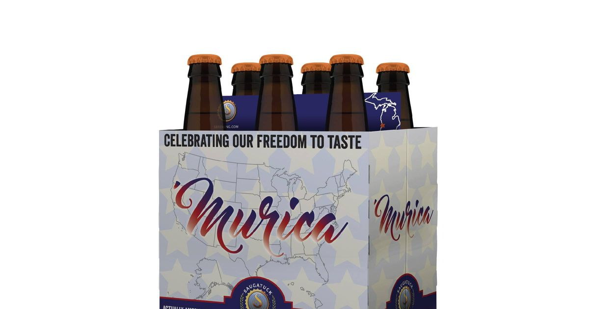 Brewery Mocks Budweiser with 'Murica' Beer -- Grub Street