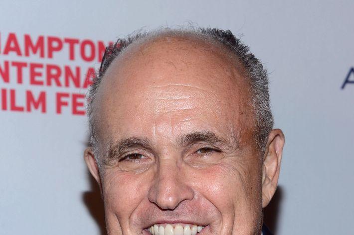 EAST HAMPTON, NY - OCTOBER 04: Rudy Giuliani attends the 20th Hamptons International Film Festival Opening Night Screening of
