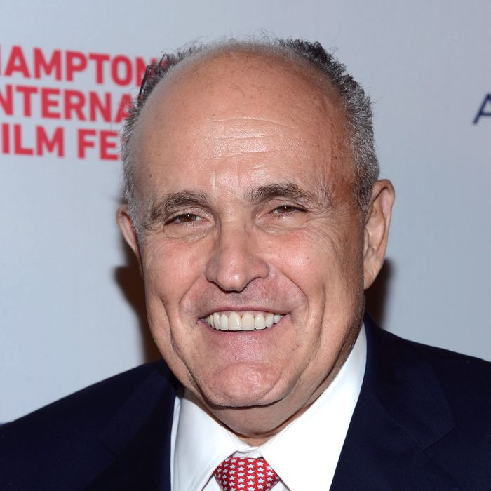 EAST HAMPTON, NY - OCTOBER 04: Rudy Giuliani attends the 20th Hamptons International Film Festival Opening Night Screening of