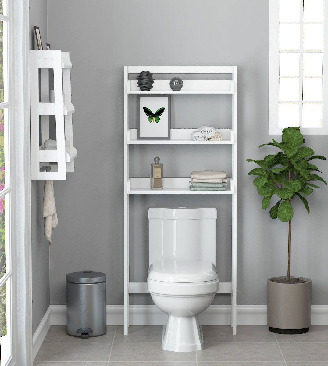 5 Best Over The Toilet Storage Ideas On Amazon 2019 The Strategist New York Magazine