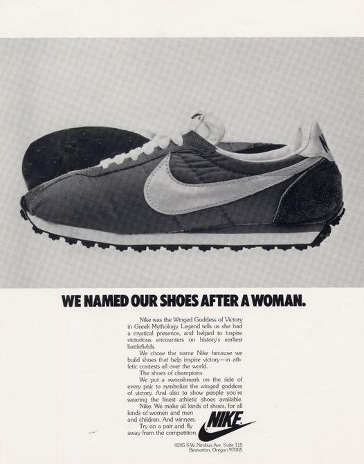 Nike women shoes ads