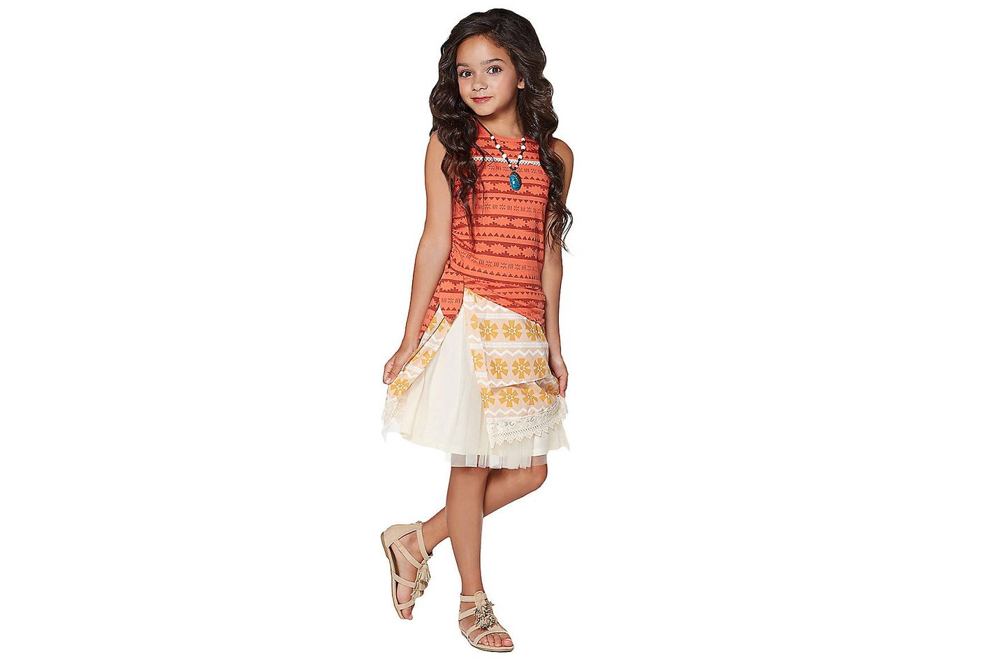 Kids Moana Dress Costume