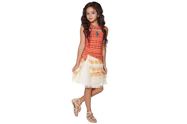 Kids Moana Dress Costume