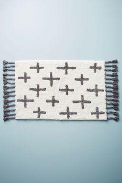 Moroccan Cross Bath Mat
