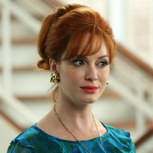 Joan Harris (Christina Hendricks) - Mad Men - Season 6, Episode 4 - Photo Credit: Michael Yarish/AMC