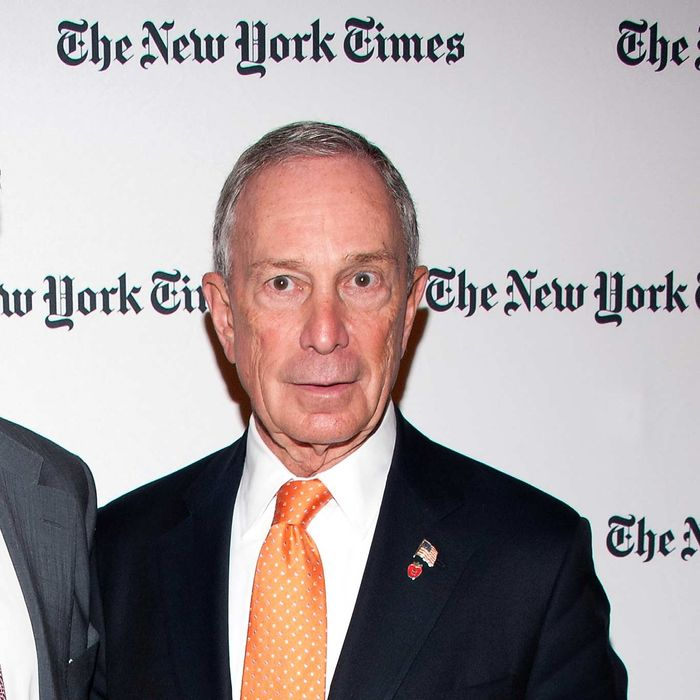 Michael R. Bloomberg attend the 2013 Energy For Tomorrow Conference at The Times Center on April 25, 2013 in New York City.