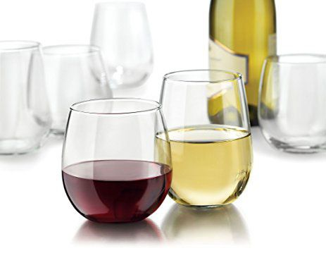 Libbey Stemless Glasses (Set of 12)