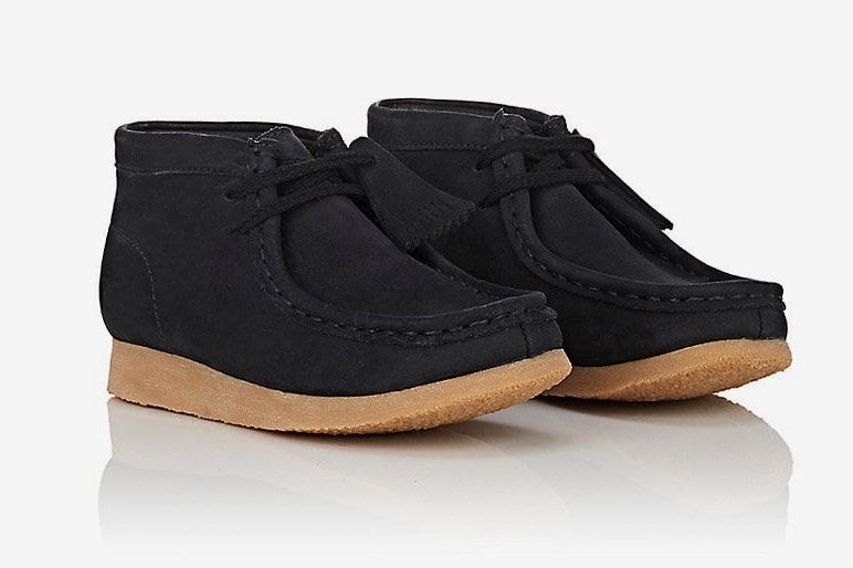 Clarks Kids' Nubuck Wallabee Boots