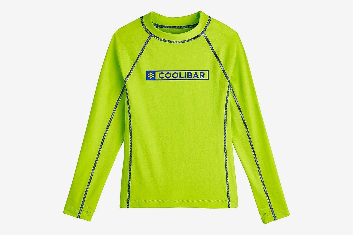 Coolibar UPF 50 Kids Long Sleeve Surf Shirt Sun Protective
