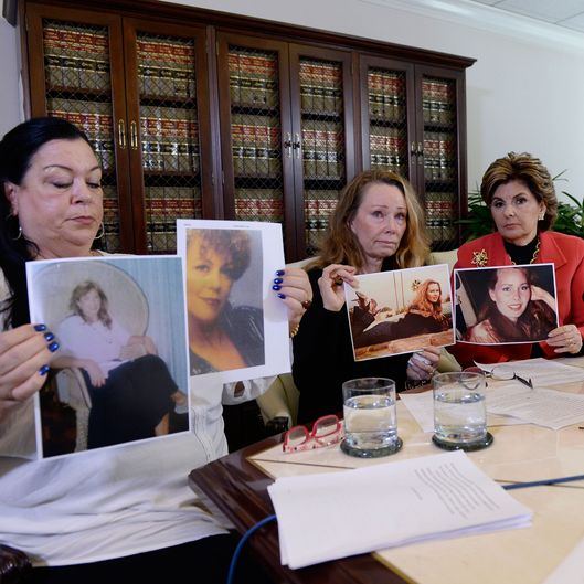 Gloria Allred Holds Press Conference With Three New Alleged Victims In The Bill Cosby Scandal