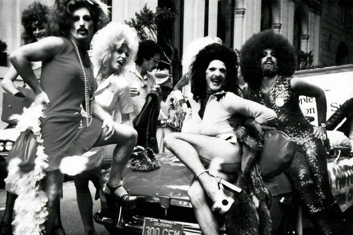 Harvey Milk, San Francisco Gay Parade.