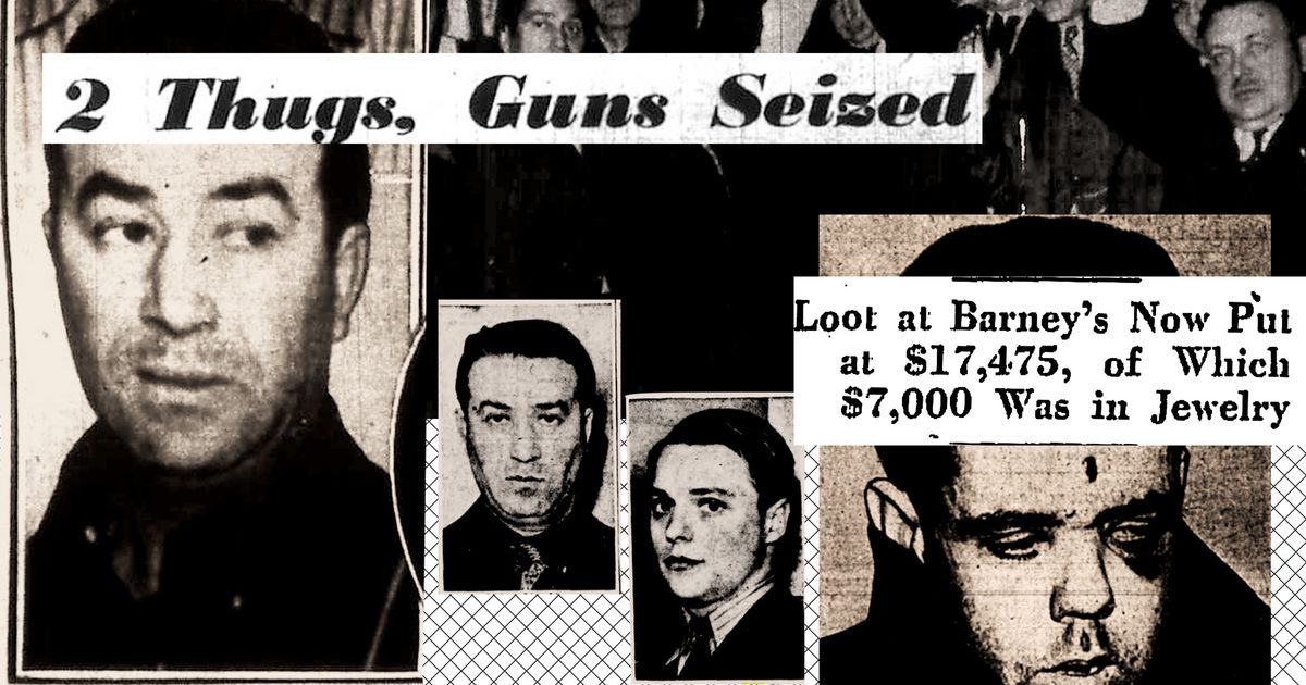 The Gangsters at Barneys: A Forgotten New York Story
