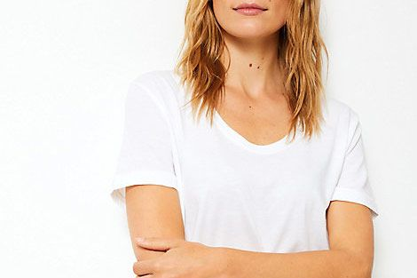Marks and Spencer Pure Supima Cotton Regular Fit T-shirt