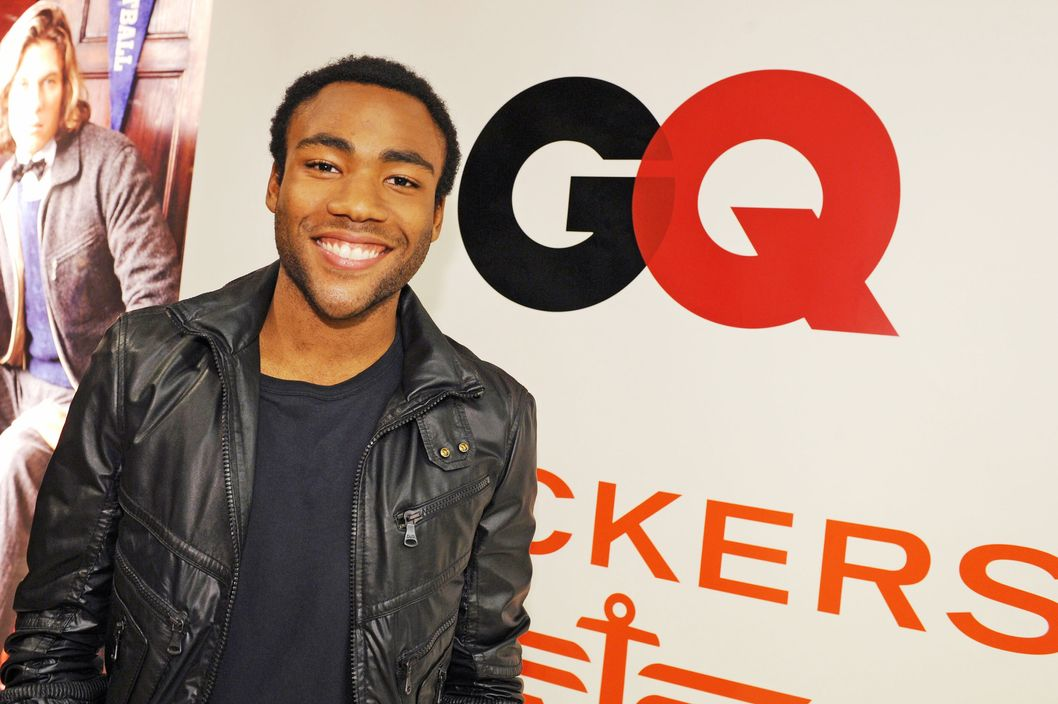 NEW YORK, NY - SEPTEMBER 08:  Donald Glover atends GQ,Bloomingdale's And Corzo celebration of men's style at Fashion's Night Out at Bloomingdale's 59th Street Store on September 8, 2011 in New York City.  (Photo by Craig Barritt/Getty Images for GQ)