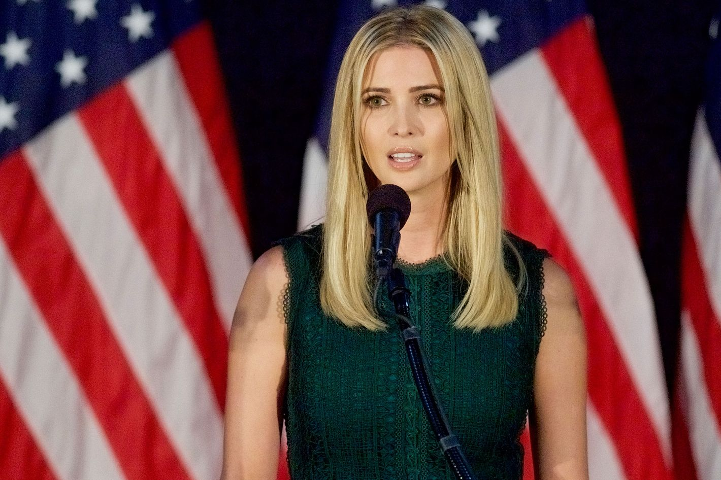Ivanka Trump Finally Breaks Silence on Daddy Donald's Sexist Rants