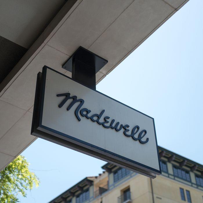Madewell sign.