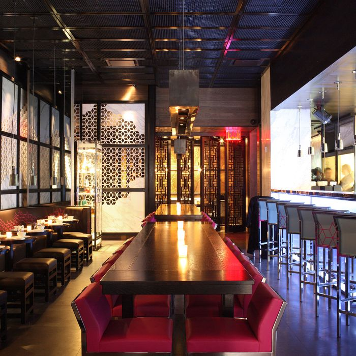 The 200-seat New York location, which opened yesterday.