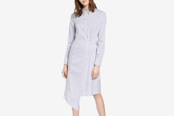 Halogen Poplin Shirtdress