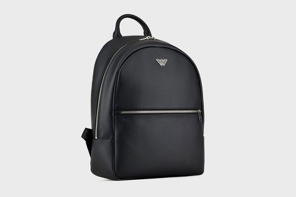 Emprio Armani Black Backpack