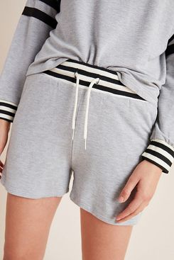 Comune Romona Striped Shorts