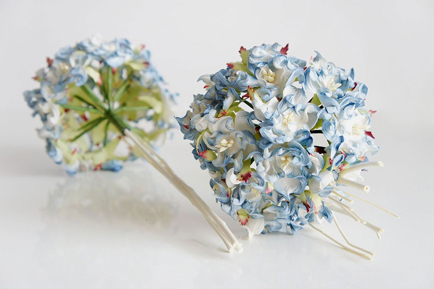 Best artificial flowers silk paper and felt bouquets plawanature paper hydrangea bundles izmirmasajfo