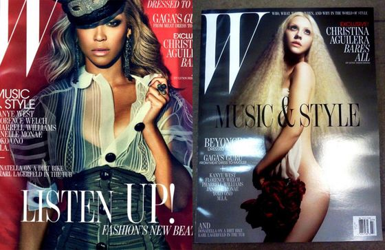 Both Covers of W's July Issue Have Leaked