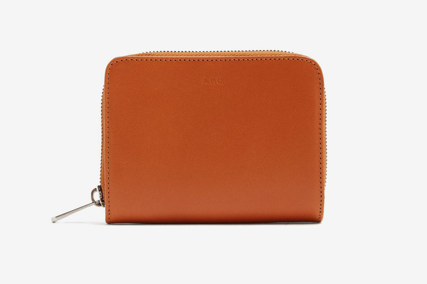 A.P.C.Emmanuel Zip-Around Leather Wallet