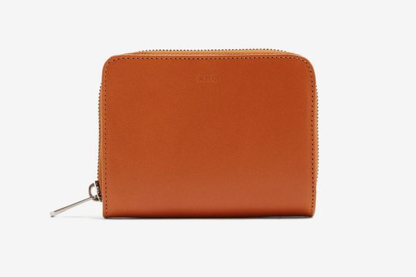 A.P.C. Emmanuel Zip-Around Leather Wallet