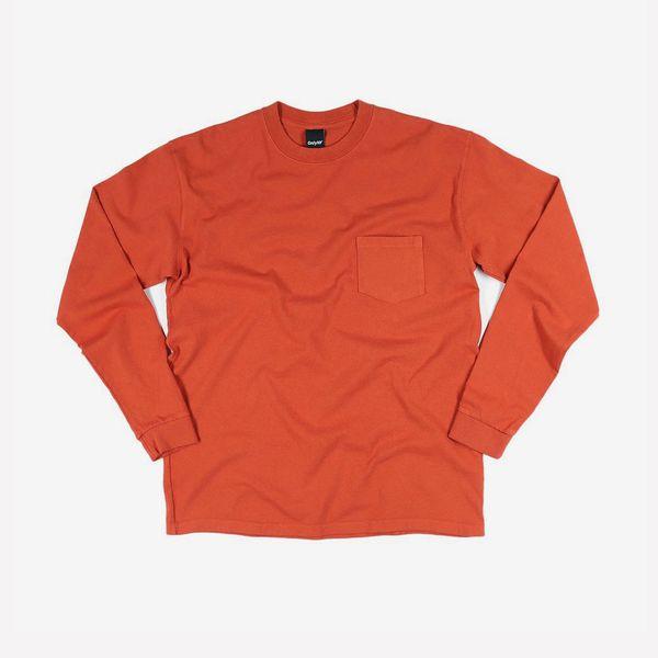 Only NY Premium Heavyweight L/S Pocket T-Shirt