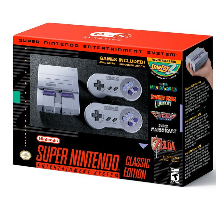 Super Nintendo NES Classic Available to Buy