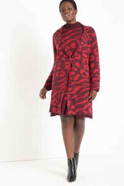 Eloquii Sweater Coat