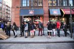 Here's the Scene at Today's Opening of a Real-Life Friends Central Perk