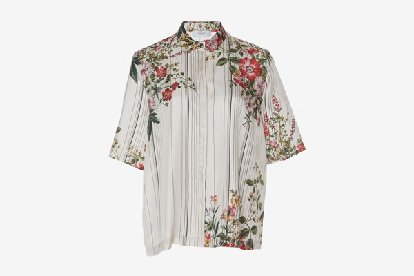 Roseanna Italy Kinney Button Front Shirt
