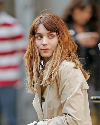 Rooney Mara and her new hair.