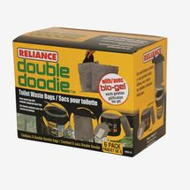 Reliance Double Doodie Waste Bags With Bio-Gel (6-Pack)