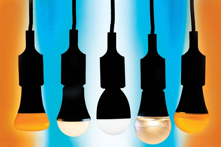 "A new array of therapeutic bulbs go beyond ""happy"" lights."