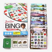 Bob Ross Bingo Game | Bingo Set for Up to 16 Players