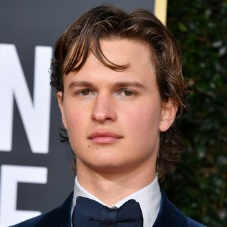Beach Nude Group Shower - Ansel Elgort Posts Nude Photo on Instagram to Help Hospitals