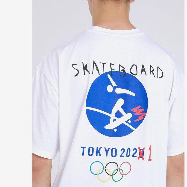 MADMARS Skateboard Olympic Tee