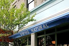 The current Spring Street Natural, in Soho.
