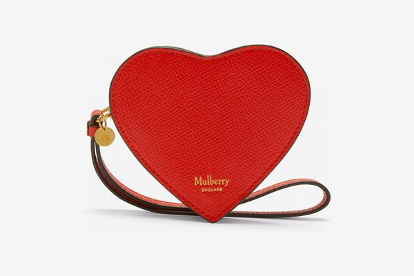 Mulberry heart coin purse