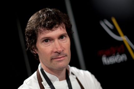 MADRID, SPAIN - JANUARY 25:  Chef Daniel Patterson poses for a protrait on the second day of 'Madridfusion' International Gastronomic Fair at the 'Palacio de Congresos' on January 25, 2012 in Madrid, Spain.  (Photo by Pablo Blazquez Dominguez/Getty Images)