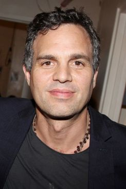 """Mark Ruffalo poses backstage at """"Romeo and Juliet"""" on Broadway at The Richard Rogers Theater on October 11, 2013 in New York City."""