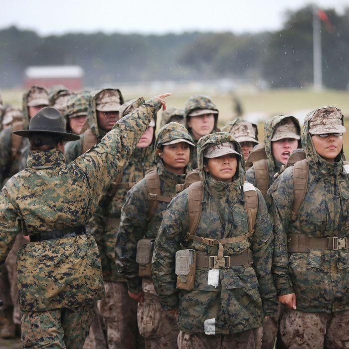 Marine Corps Eases Weight Restrictions For Women